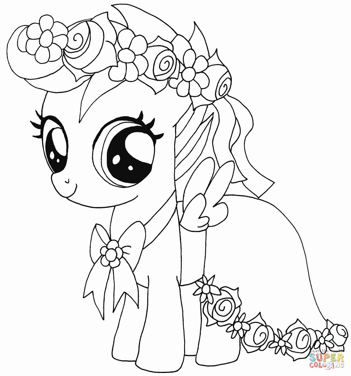 Coloring Pages My Little Pony My Little Pony Coloring Horse Coloring Pages Cartoon Coloring Pages
