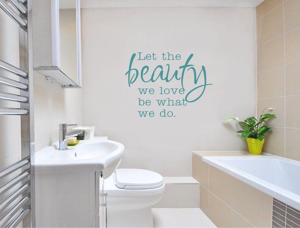 Beauty Wall Sticker Salon Wall Sticker Beauty Wall Decal Salon