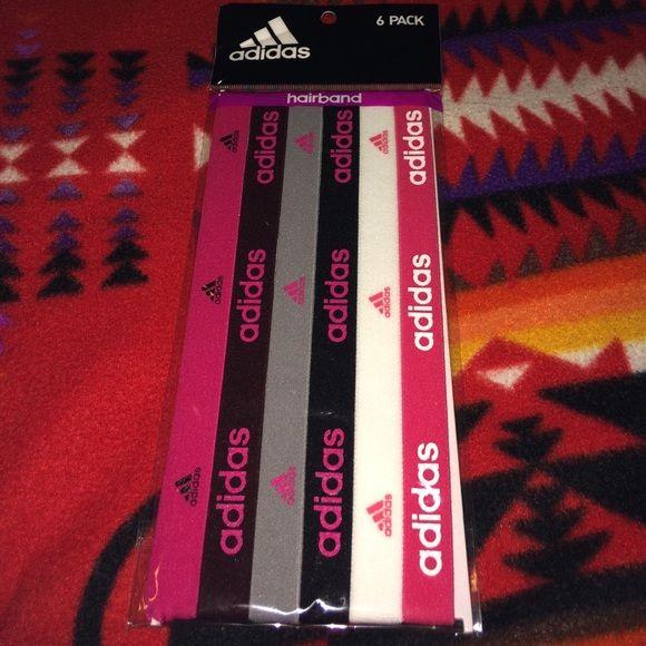 Adidas Headbands Pack of 6 Brand new Adidas Headbands Adidas Accessories Hair Accessories