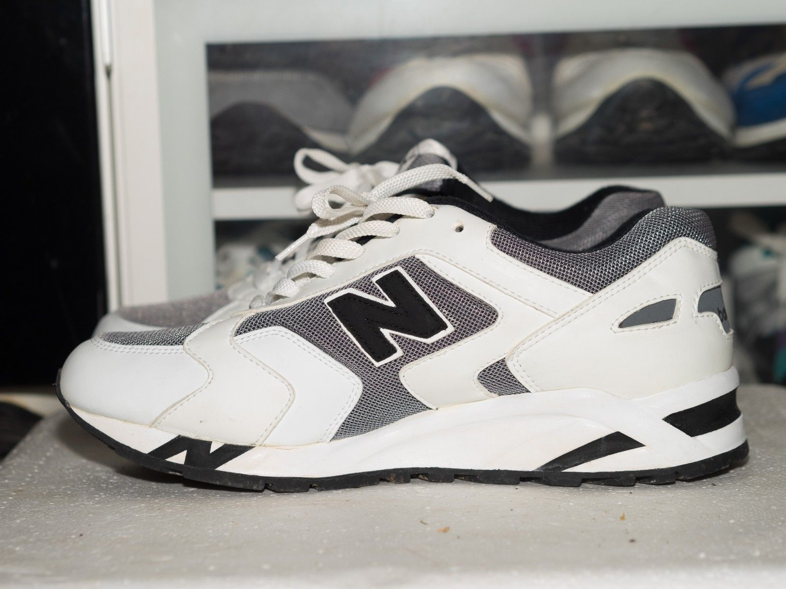 new product 7d654 0af23 New Balance M485GWB Vintage 1994 Hanon Crooked Tongues JCrew Mita Fieg SNS