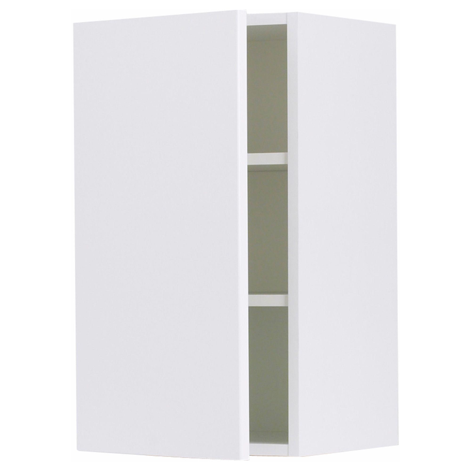 faktum wall cabinet - abstrakt white, 30x70 cm - ikea £42