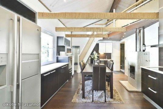 Myytävät asunnot, Vaiviontie 50 Merimasku Naantali #keittiö #ruokailutila #oikotieasunnot