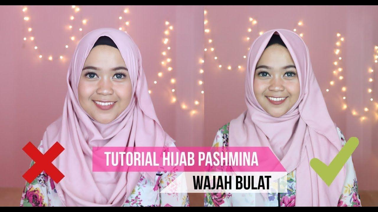 Tutorial Hijab Segi Empat Muka Bulat