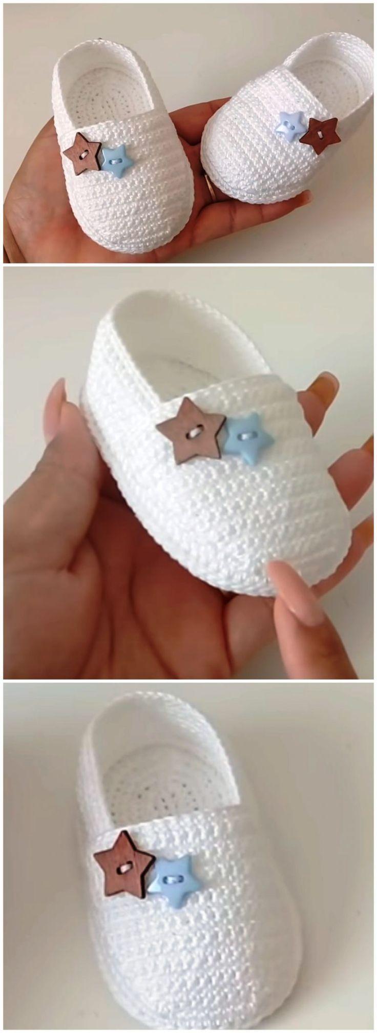 Photo of Crochet Baby Espadrilles – Handwerk