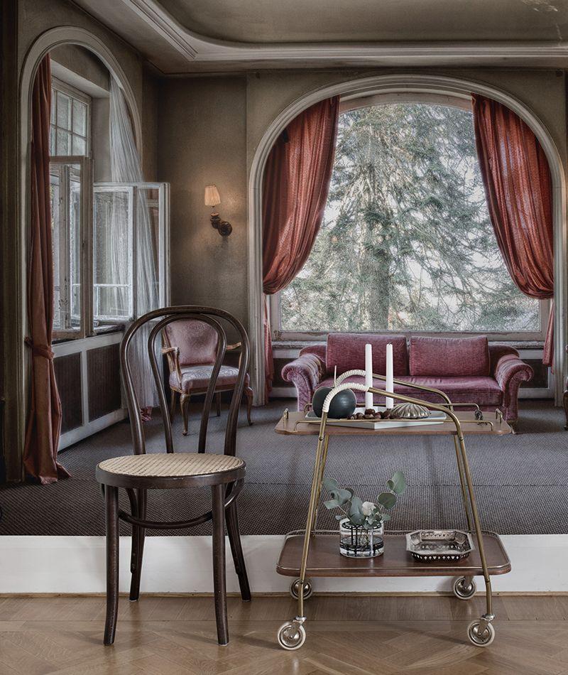 Velvet Rendezvous - moderne tapeten fr schlafzimmer