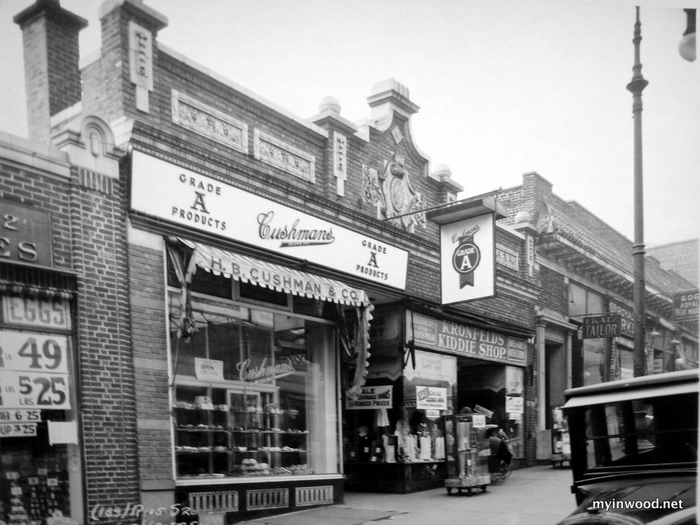 Images Of Inwood Storefronts In The 1920 S My Inwood Inwood Inwood New York Washington Heights