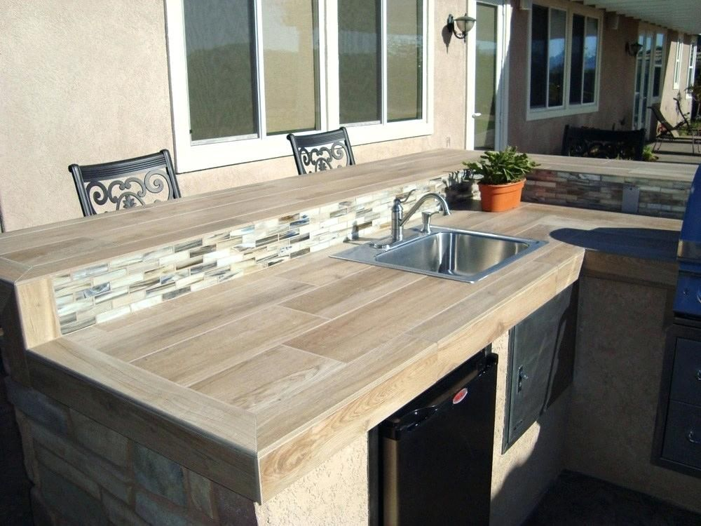 10 Outdoor Kitchen Countertop Ideas Outdoor Kitchen Ideas For
