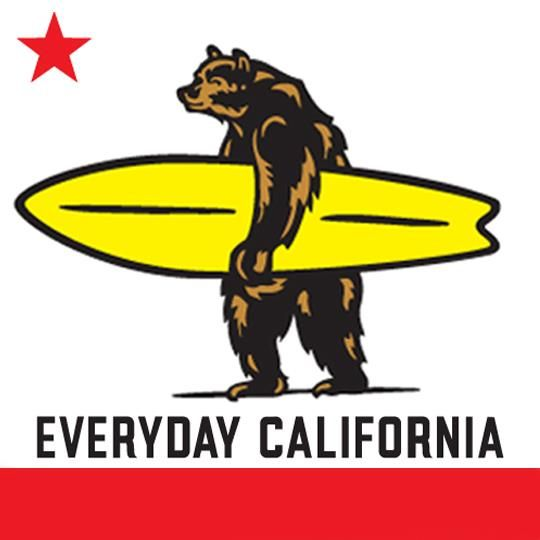 4c072d14 Our California bear with surfboard in hand, no better way to spend the  summer!