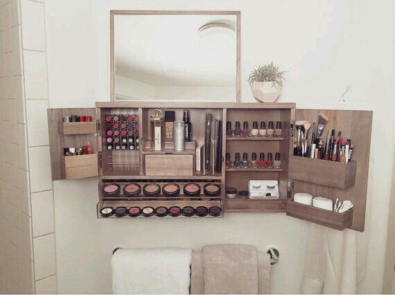 Pin By Ayesha Qureshi On Makeup In 2019 Wall Mounted