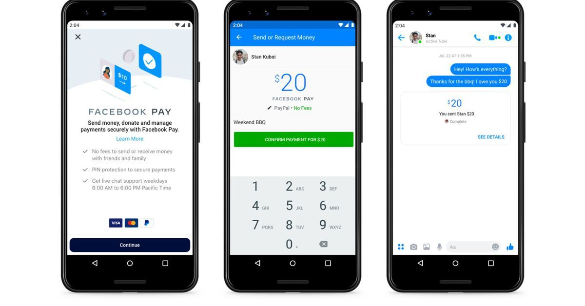 Facebook Pay is a new payment system for WhatsApp