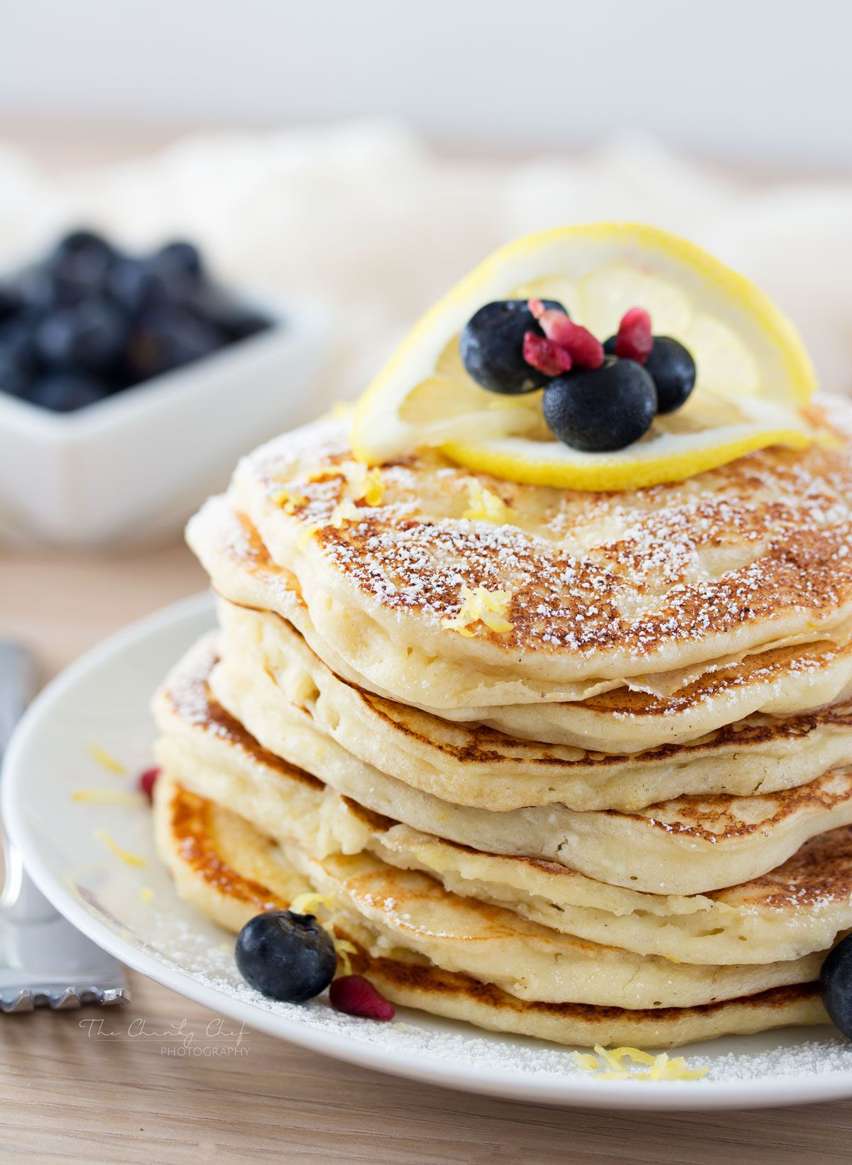 Lemon ricotta pancakes soft and fluffy ricotta pancakes infused soft and fluffy ricotta pancakes infused with great lemon zest flavor perfect for a special occasion breakfast but easy enough to make every day ccuart Choice Image