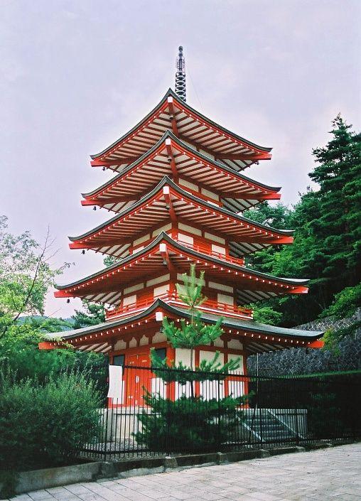 Chureito Pagoda, Fuji Yoshida, Japan