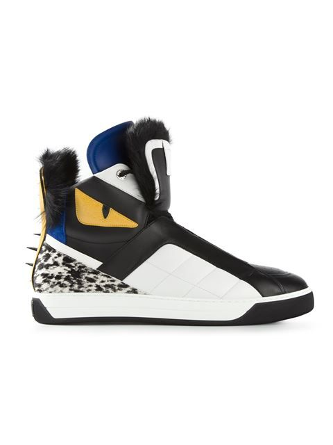 'Bag Bugs' hi-top sneakers