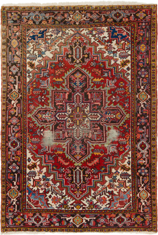 Red 6 4 X 9 2 Heriz Persian Rug Persian Rugs Esalerugs Persian Rug Rugs Persian