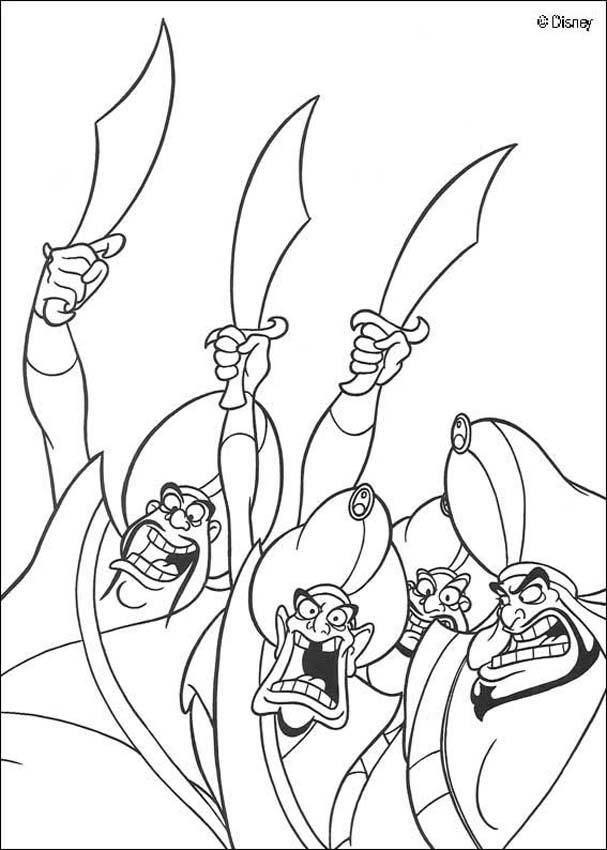 Soldiers Coloring Page