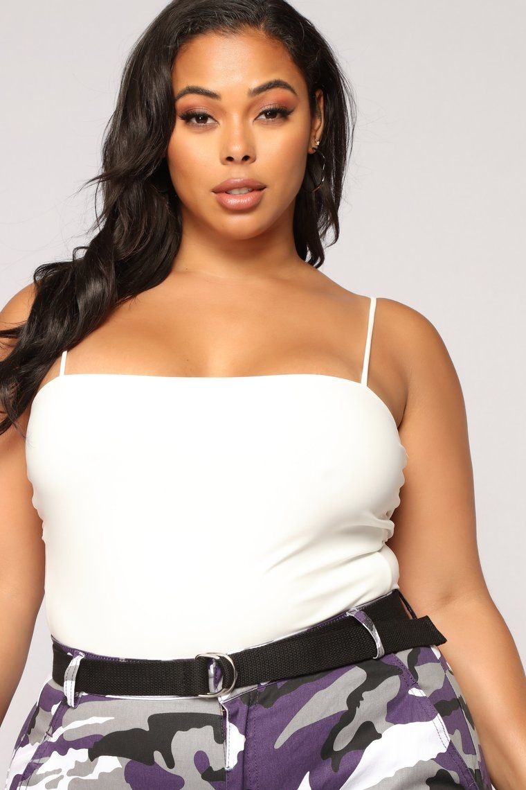 Don't Be So Square Bodysuit  Ivory is part of Clothes Fall Plus Size -  Available In Ivory, Black And Taupe Square Neckline Snap Closure 96% Polyester 4% Spandex Made in USA