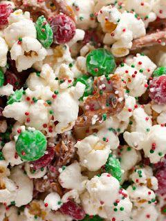 food i food funfetti christmas popcorn recipe