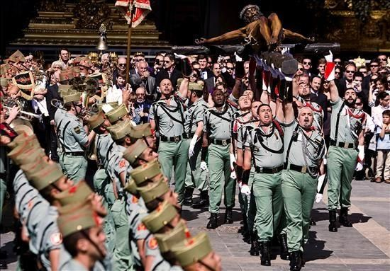 La Legión Y El Cristo De Mena La Legion Española La Legion Cristo De Mena