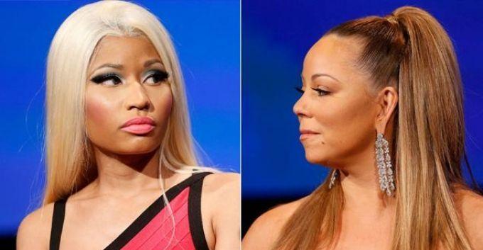 Nicki Minaj arremete nuevamente contra Mariah Carey