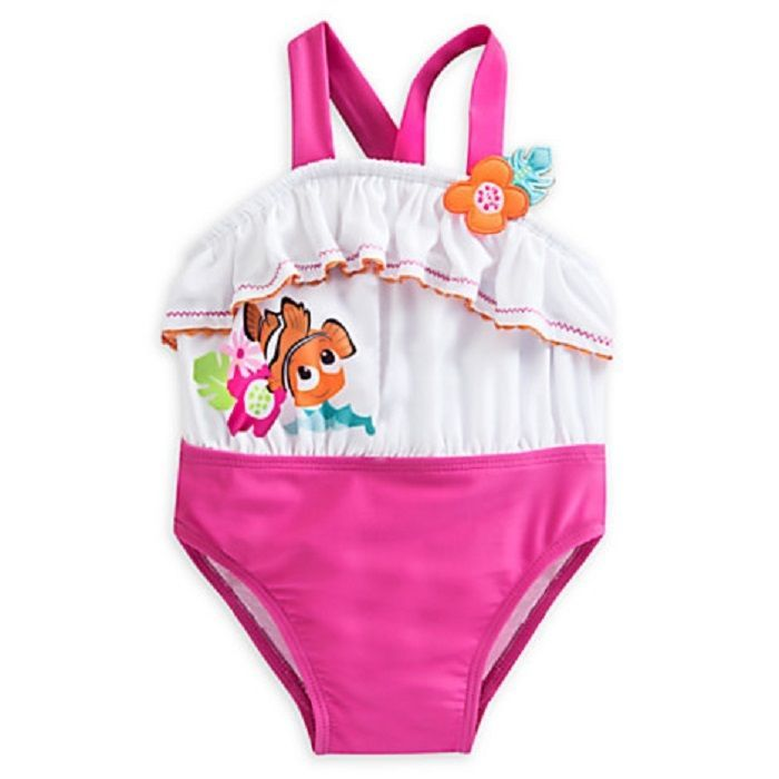 816b52620f Disney Store Finding Nemo 1-Pc Swimsuit For Baby Bright Character Graphics  Nwt