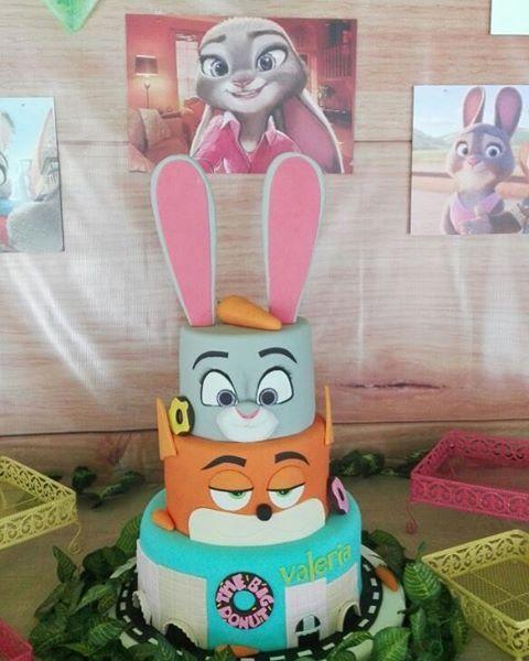 #zootopia #carrot #tortas #cakes #coneja #zorro #rabbits