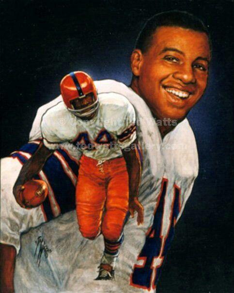 1961 Ernie Davis - Syracuse   Ernie davis, Heisman trophy, Syracuse football