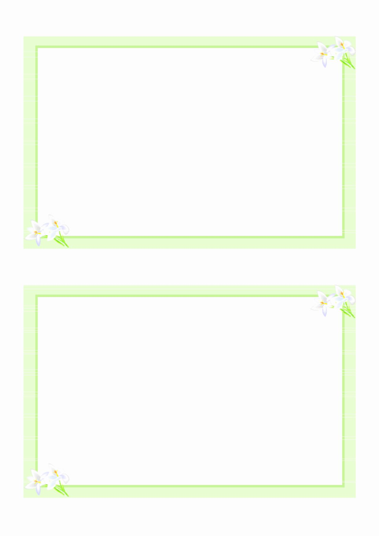 Template For Note Cards Fresh 8 Best Of Printable Blank Pledge Card Templates In 2020 Blank Card Template Free Printable Greeting Cards Free Business Card Templates