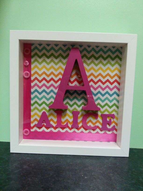 Name frame baby gifts pinterest name frame name framebaby giftsbaby presents negle Images