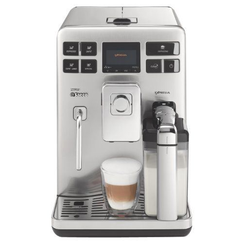 Philips Saeco Hd8856 47 Exprelia Automatic Espresso Machine Stainless Steel By Phillips Saeco 1899 00 In Espresso Machine Automatic Espresso Machine Coffee Machine