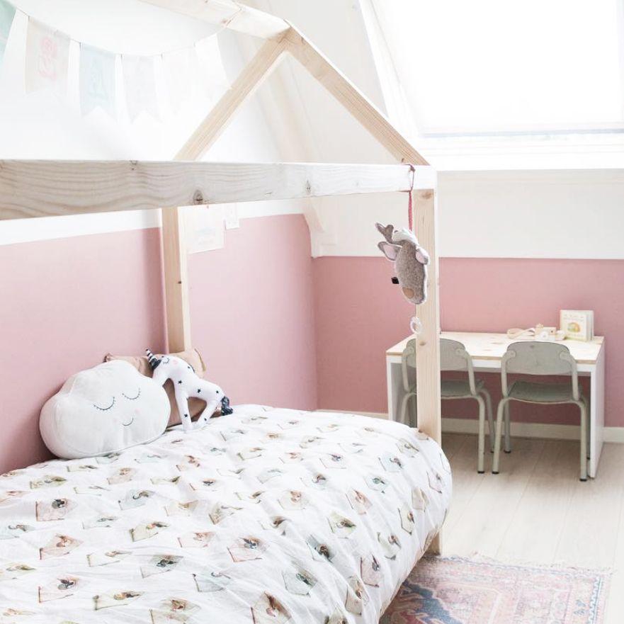 827f479b814 Studio Ditte Vogelhuisjes dekbedovertrek | birdhouse duvet cover Studio  Ditte vogelhuisjes dekbedovertrek met lieve vogelhuisjes en