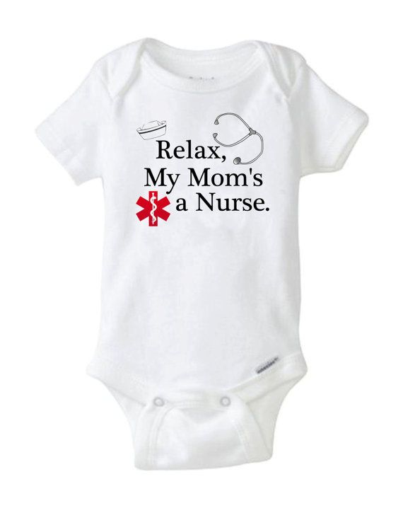 This Onesie Features The Ancient Greek Caduceus Nursing Symbol The