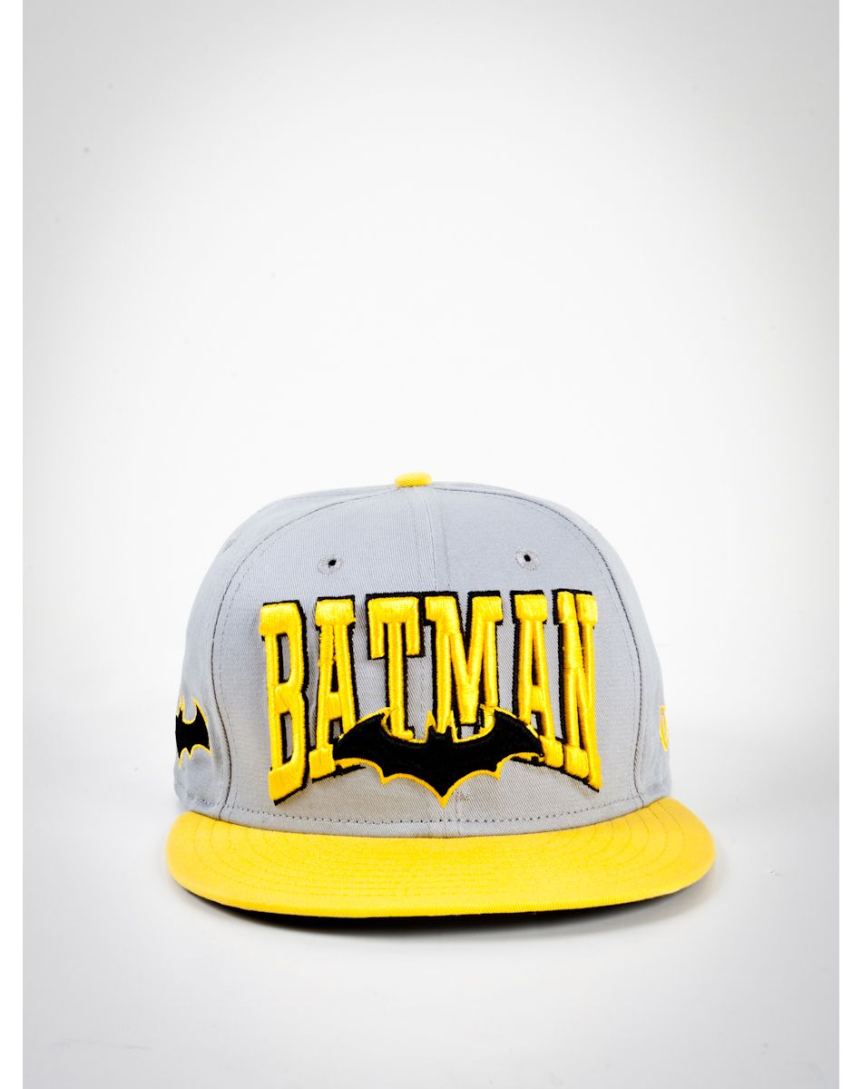 7896960eb1509 New Era Word Mark  Batman  Snapback Hat