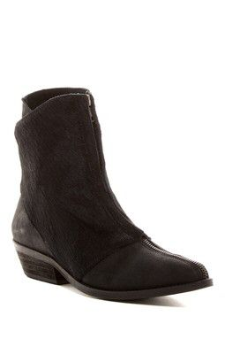 Caldera Genuine Calf Hair Ankle Bootie