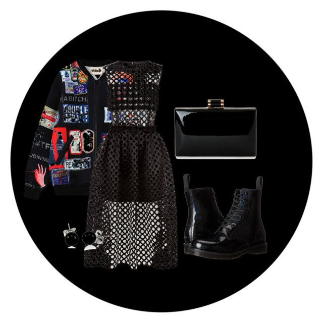 """Sem título #4"" by thaimrc on Polyvore featuring moda, Chicnova Fashion, Paskal, Dr. Martens e Bling Jewelry"