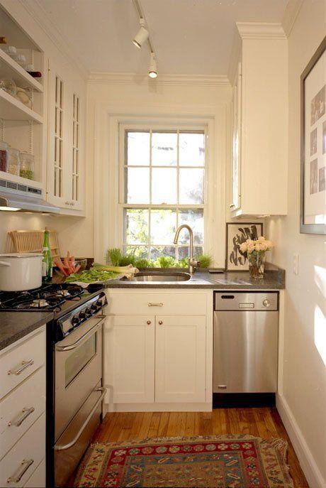 10 Tiny Kitchens We Love Window, Kitchens and Small kitchen