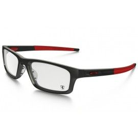 120ec00004 Oakleys Crosslink Pitch Scuderia Ferrari Collection Satin Black Red frame    Demo lens