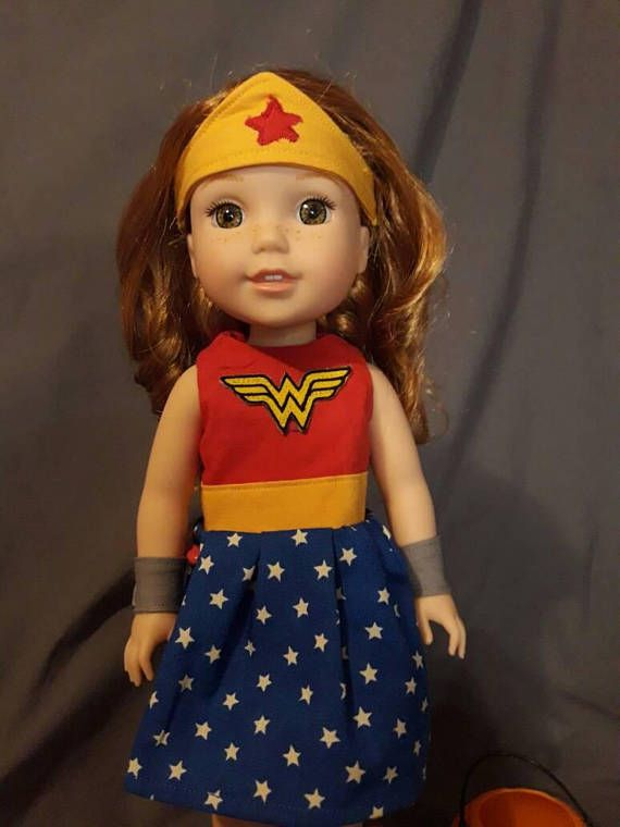 "MADAME ALEXANDER Set of 3 DC SuperHero 18/"" Dolls BATGIRL WONDER WOMAN SUPERGIRL"