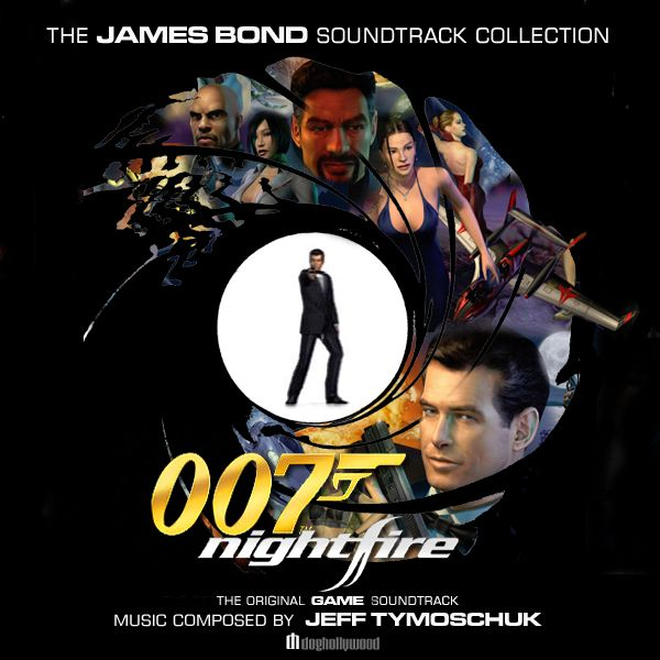 A complete set of James Bond Soundtrack album art re-imagined! A follow up to the