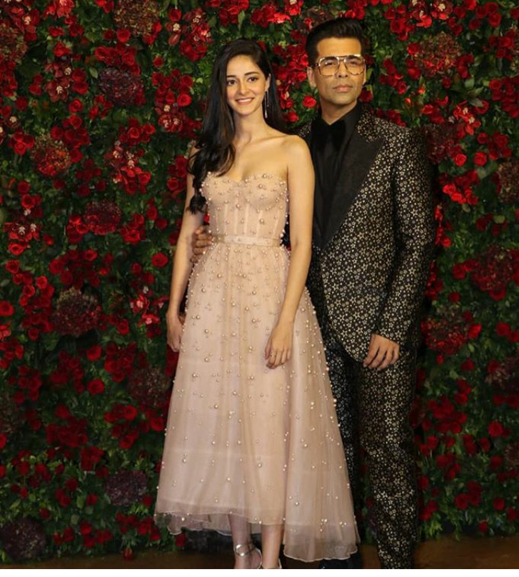 Deepveer S Wedding Reception In Mumbai...#Ananya Pandey