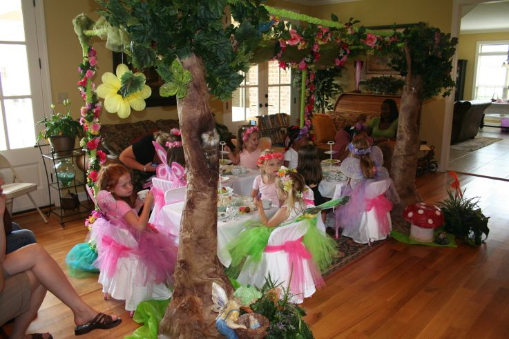 fairy party ideas   Erin's Fairy Party 130 - Children's Party Network