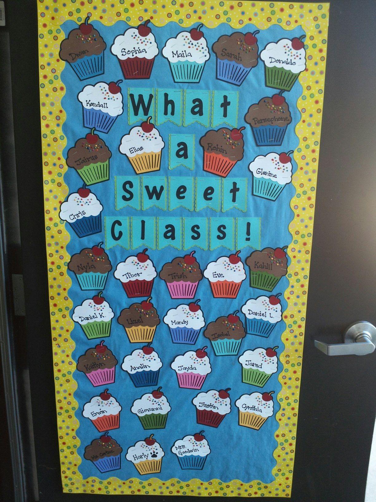 my classroom door this year