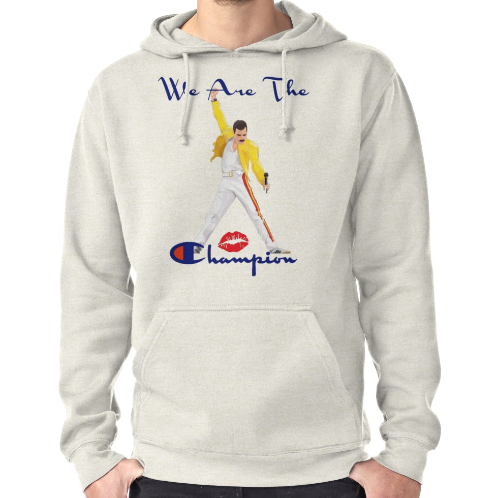 444f6863 We Are The Champion Queen Band Shirt Hoodie (Pullover) | Products in ...