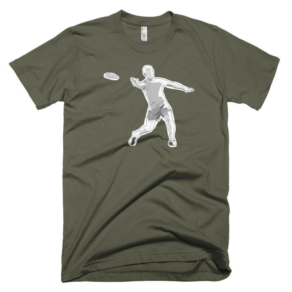 Disc Golf Throwing Doodle - Funny Disc Golf T Shirt