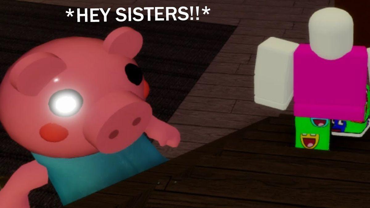 Piggy On Roblox Roblox Funny Roblox Memes Piggy