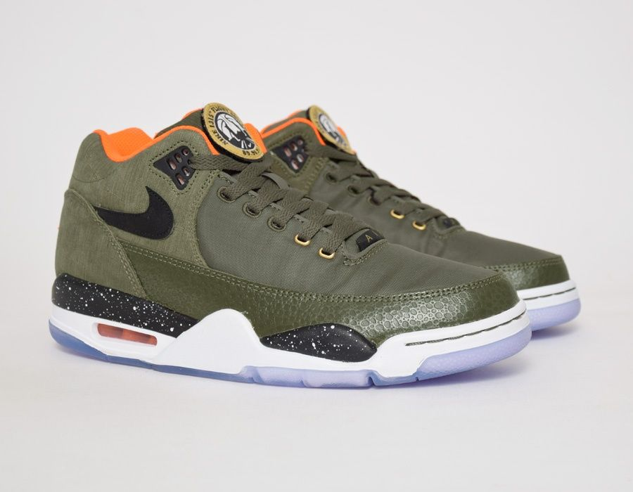 Nike Flight Squad Olive New Basketball Shoes