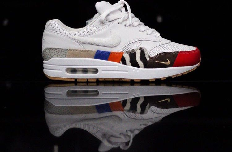 35681cd57a1 Nike air max 1 MASTER white new heat !! Size us 5 SKU  4 now online ...