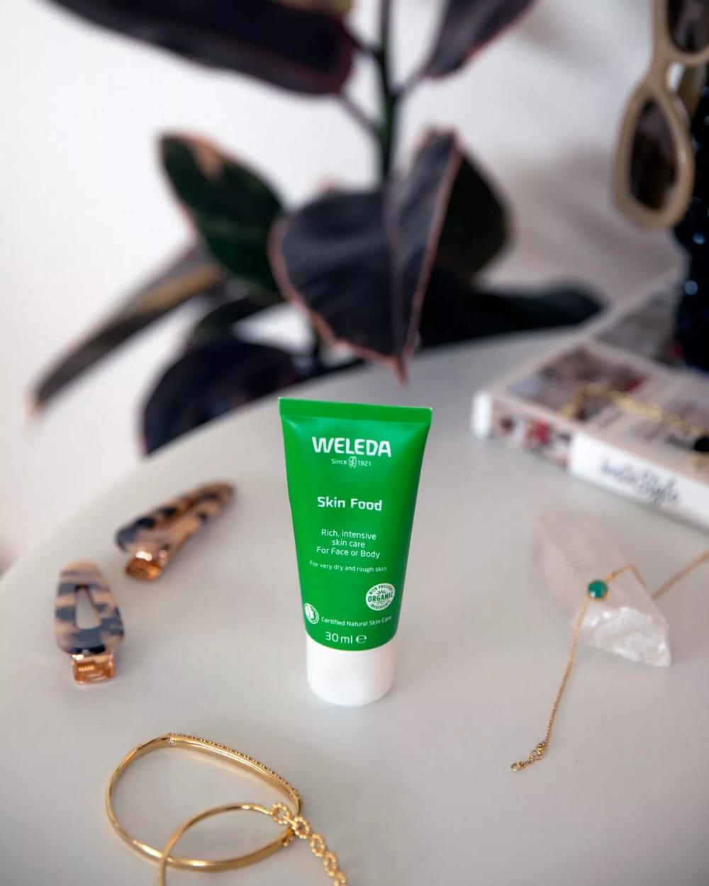 Seven Beauty Products I Can No Longer Live Without Weleda Skin Food Skin Food Botanics Skin Care