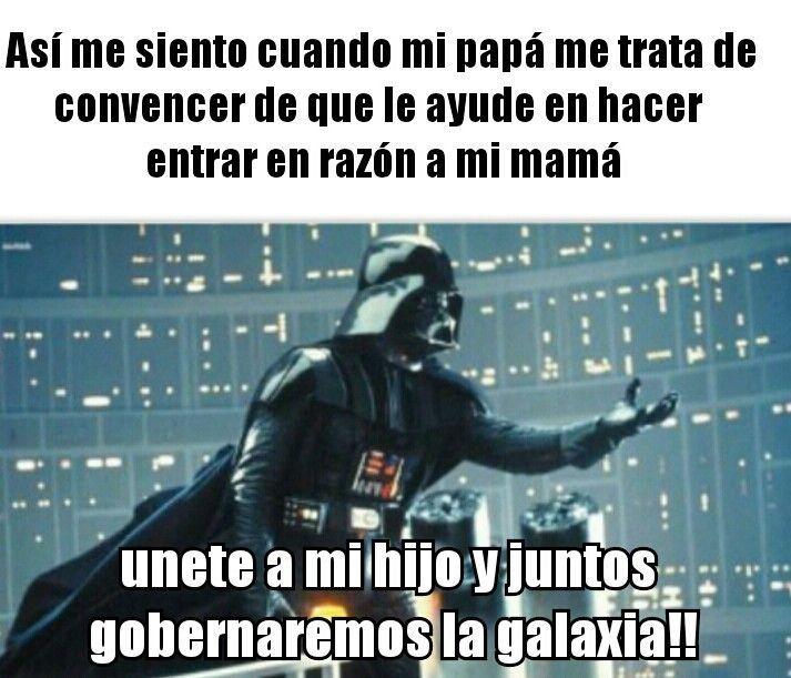 Jajaja Meme De Star Wars Starwarswallpaper Memes Funny Faces Funny Memes New Memes
