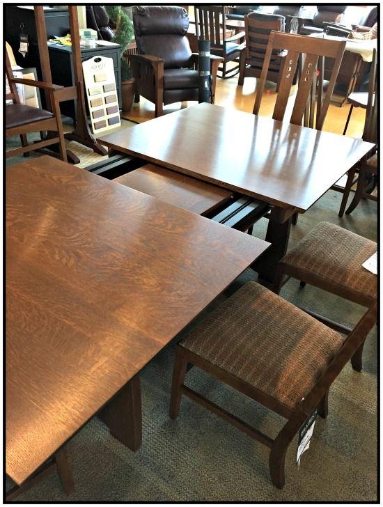 Stickley Dining Room Furniture: The Highlands Trestle Table