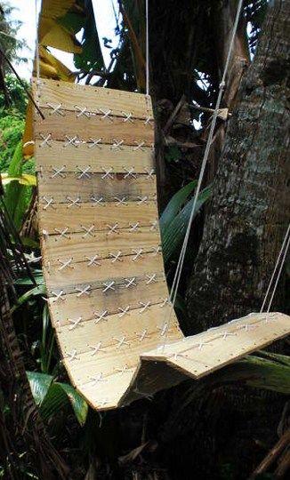 Leuke schommelstoel